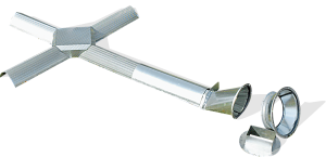 duct system for grain bin